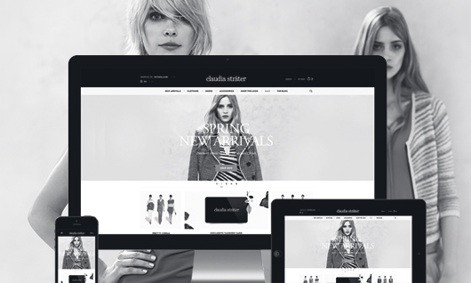 Claudia Sträter - webshop redesign